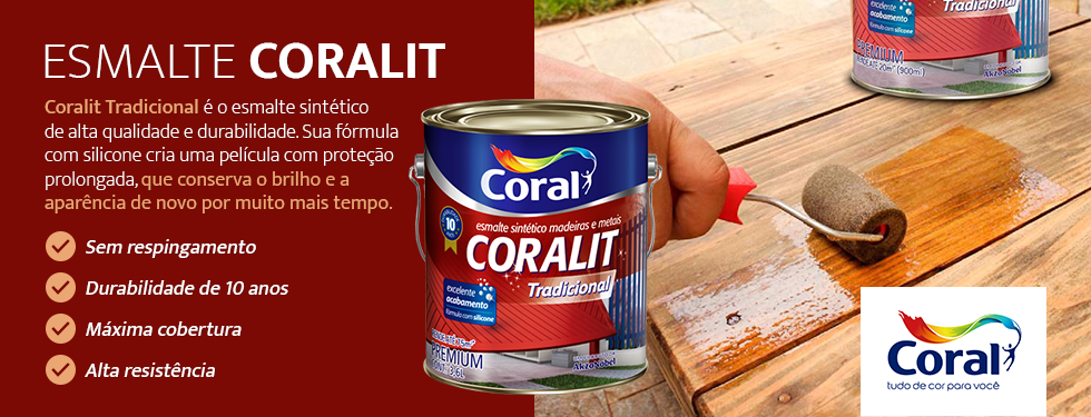 Esmalte Coralit