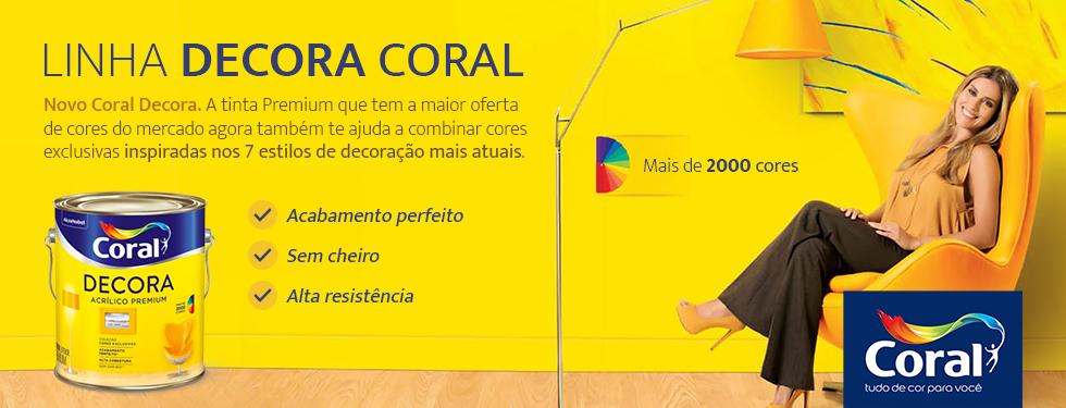 Linha Decora Coral
