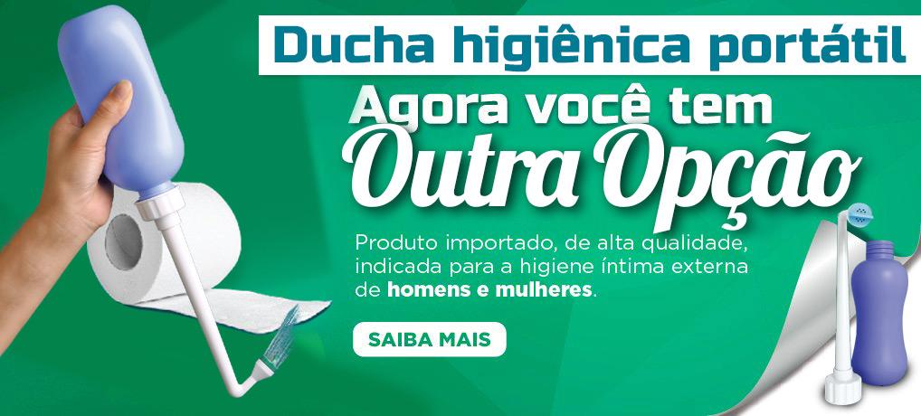 Ducha Higiênica Portátil