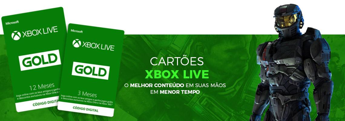 CARTÕES XBOX