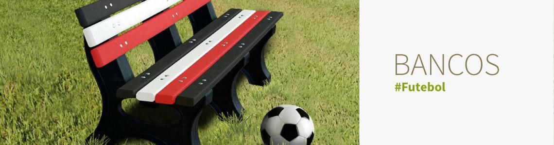 Bancos de Futebol com cores personalizadas