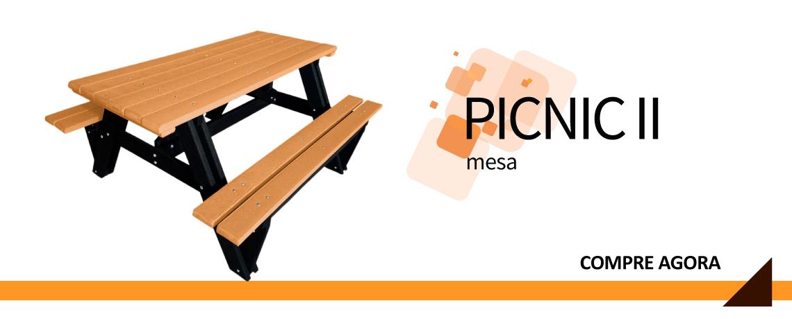 Mesa Picnic II ideal para você!