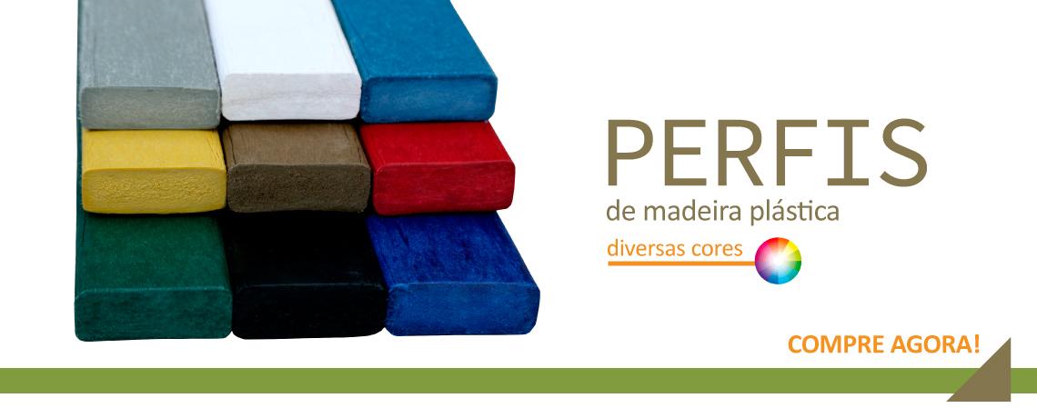 Perfis diversas cores
