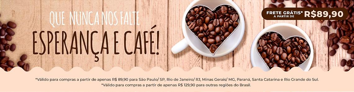 Que nunca nos falte esperança e café!