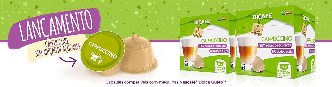 Cappuccino sem açúcar
