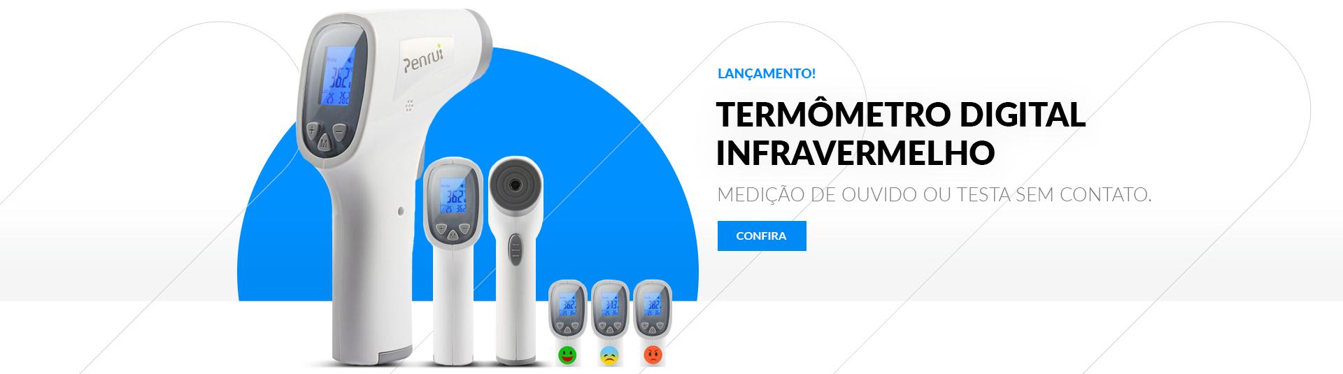 Termômetro Digital sem Contato Infravermelho Penrui JRT200 - Penrui