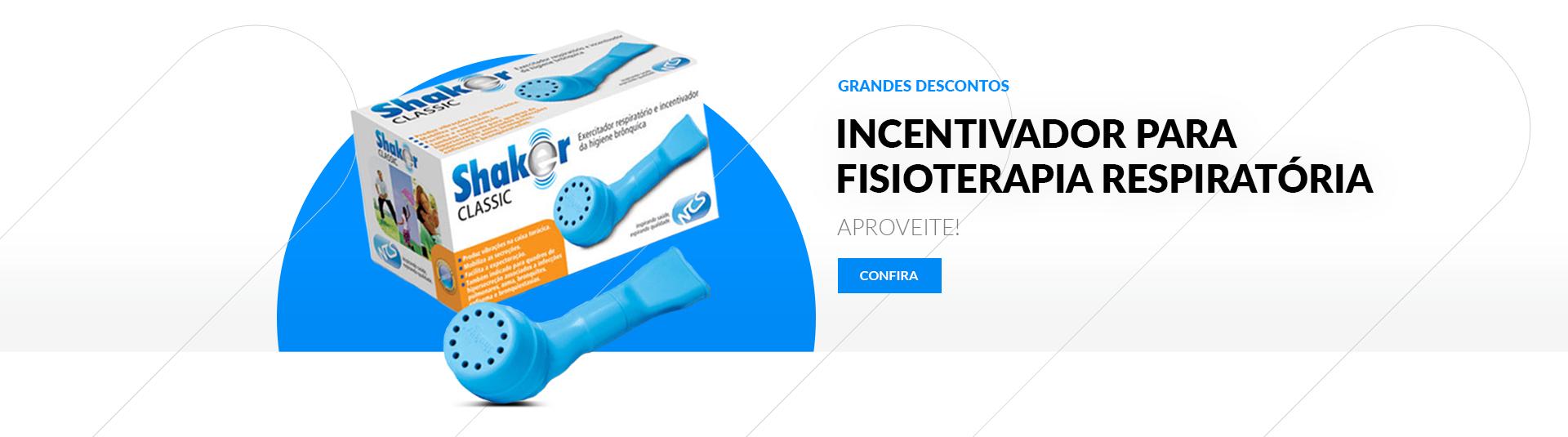 Incentivador para Fisioterapia Respiratória Shaker Classic - NCS