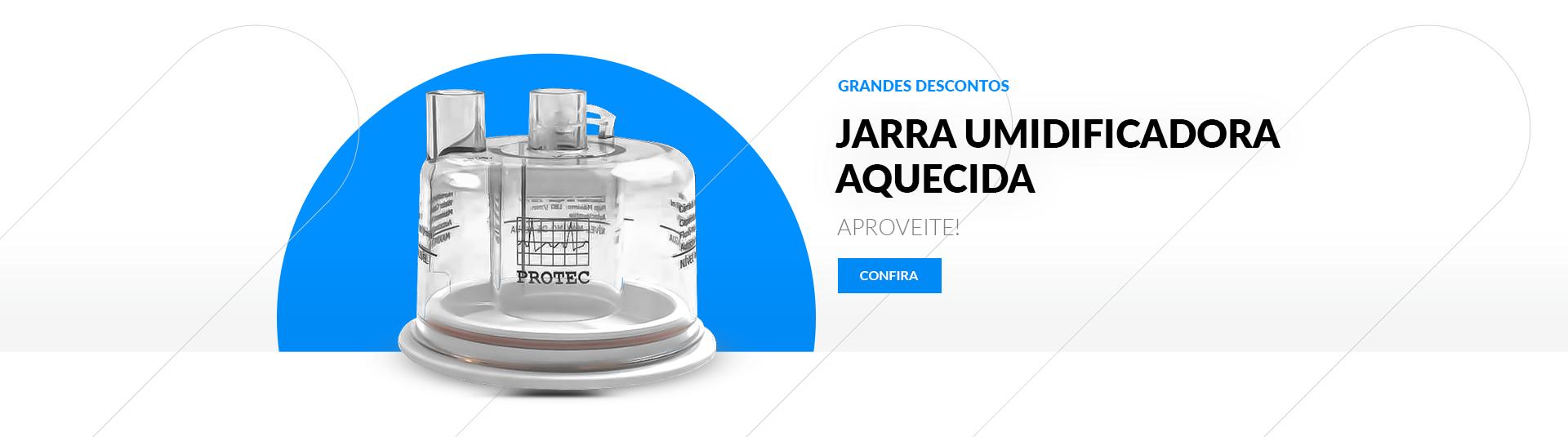 Jarra Umidificadora Aquecida Intermed Aut.134 - Protec