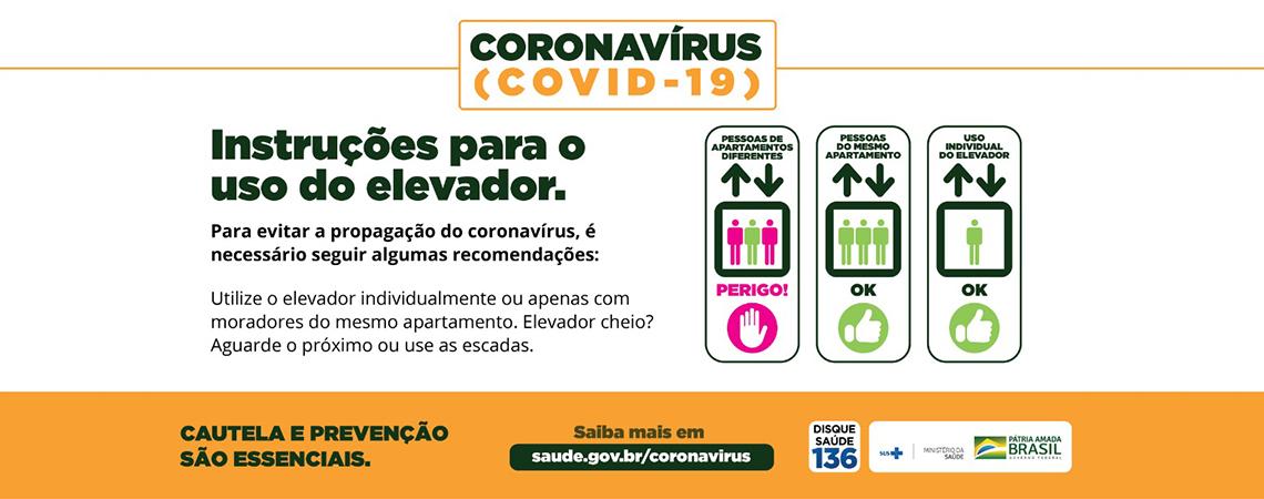 Coronavírus em elevador - I