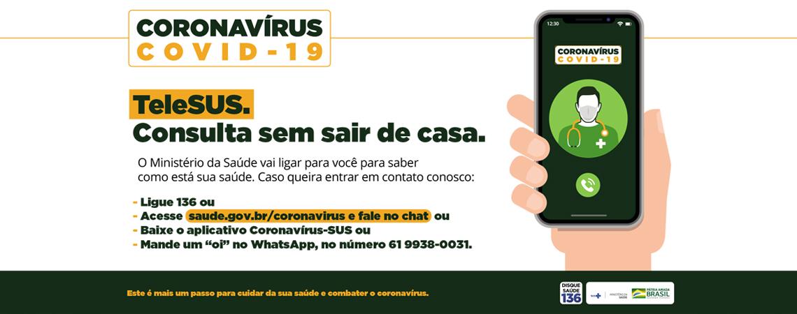 Coronavírus TeleSUS - I