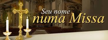 Seu nome em uma Missa
