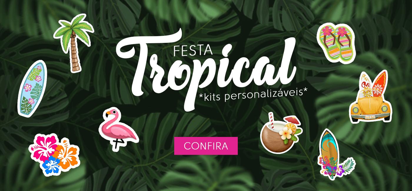 banner Festa Tropical