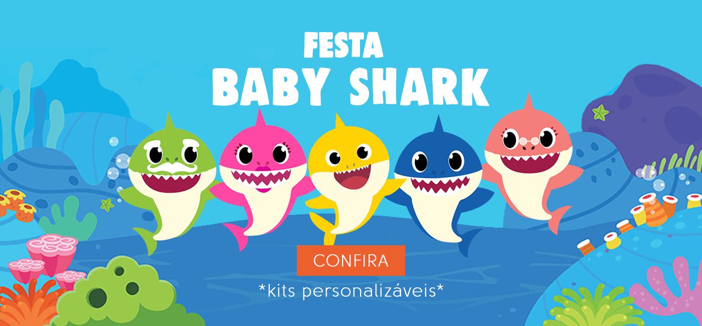Lembrancinha Festa Baby Shark