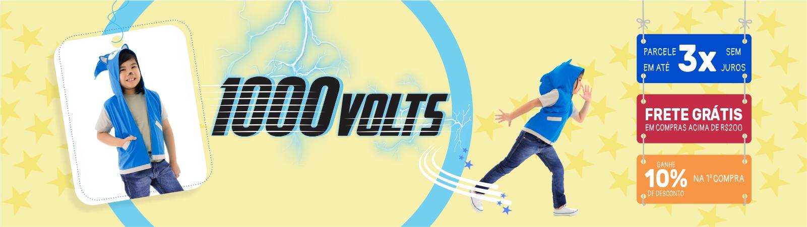 1000 volts