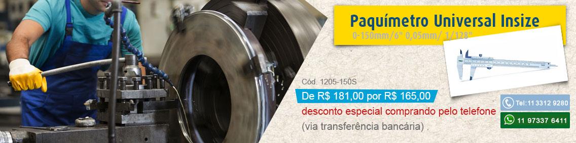 Paquimetro Insize 1205-150s