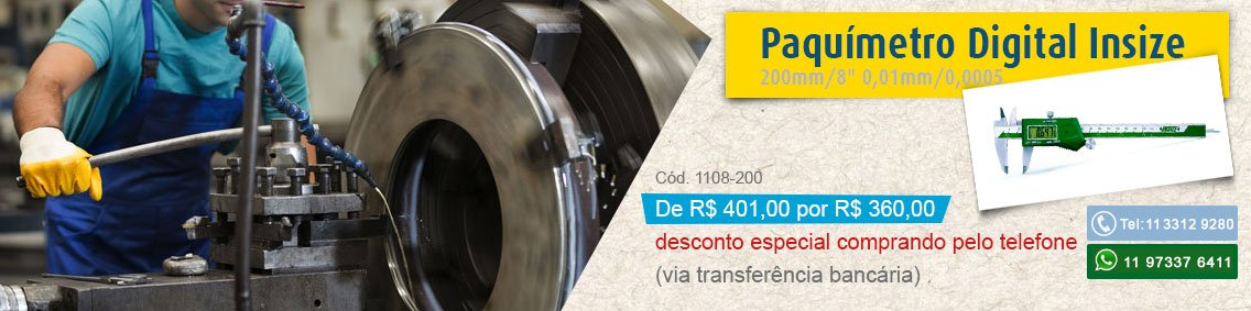 paquimetro insize 1108-200