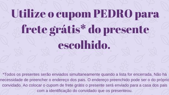 Chá de bebê do Pedro