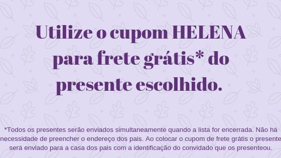 Chá da Helena (pais Iriane e Vinícius)