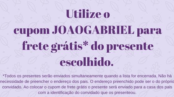 Chá do João Gabriel