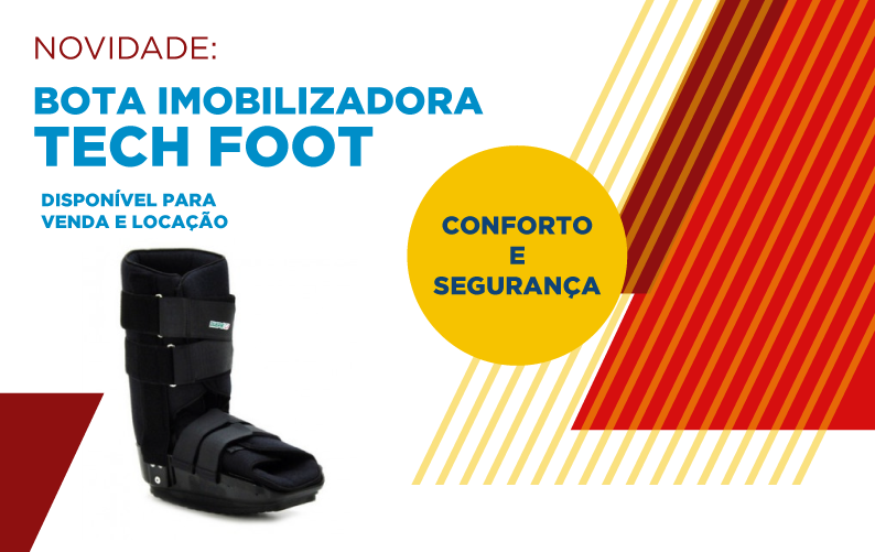 BOTA IMOBILIZADORA TECH FOOT