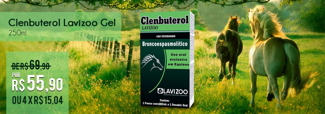 Clenbuterol Lavizoo Gel 250ml