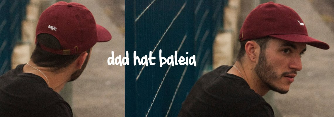 DAD HAT BALEIA