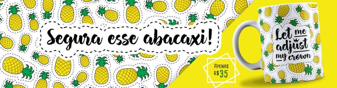 Caneca - Abacaxis
