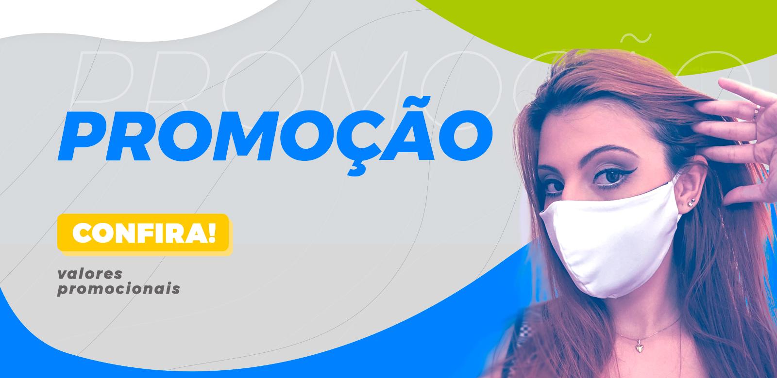 Promo máscaras