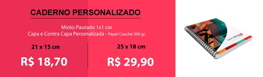 Caderno Capa Couché 300gr.