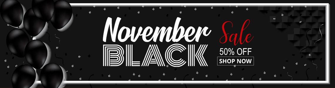 black november 50%