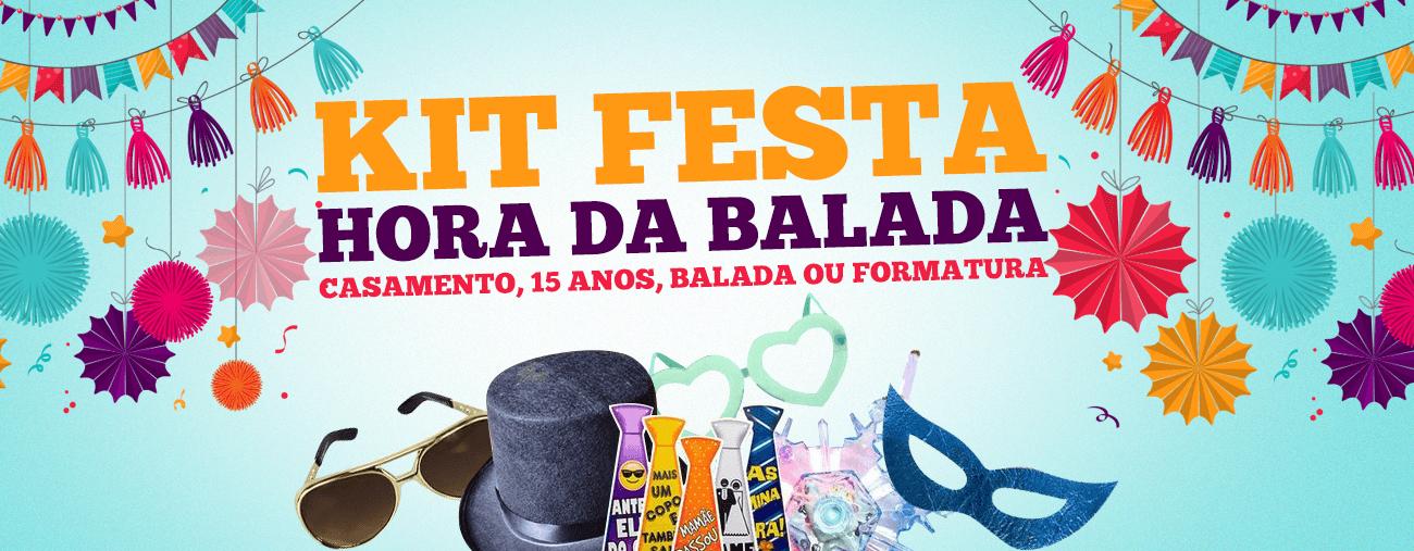 Kit Festa Hora da Balada