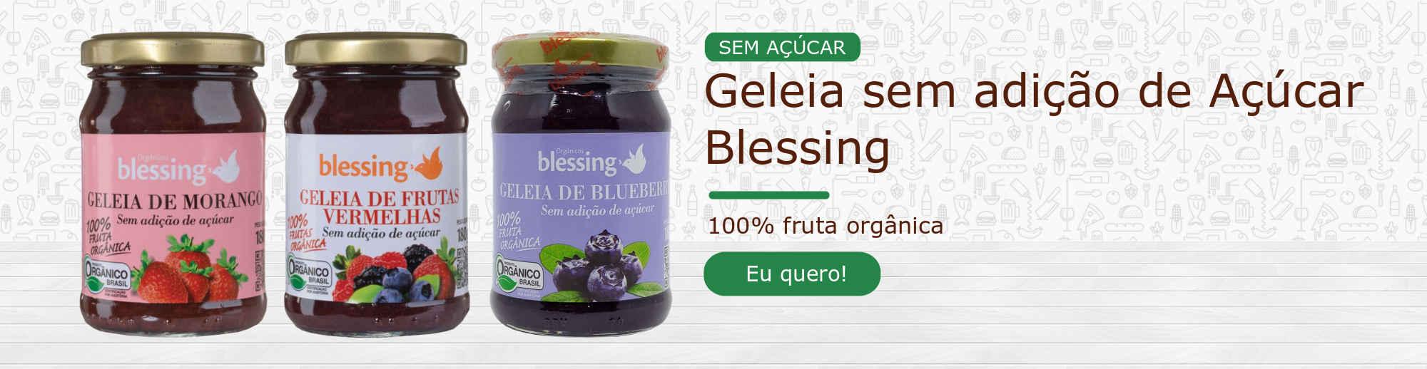 Geleia Blessing Sem Açúcar