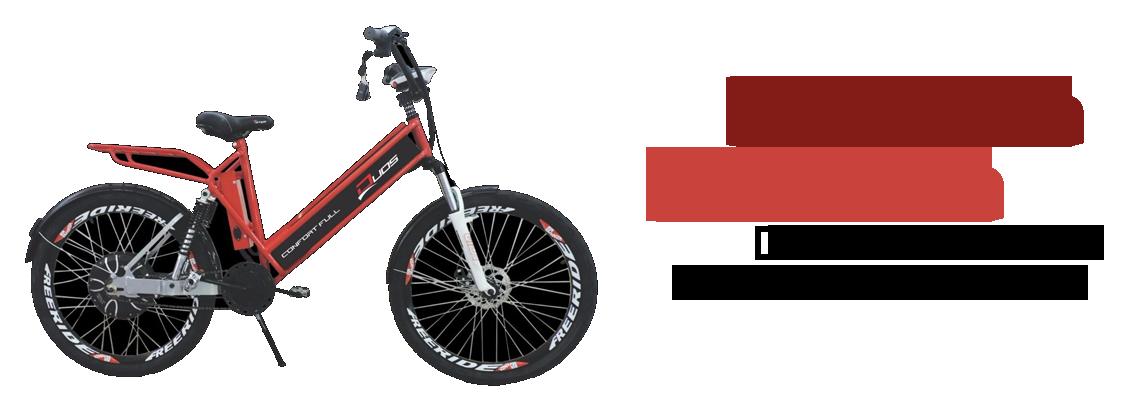 Bicicleta Eletrica Duos 800 Watts Com Amortecedor