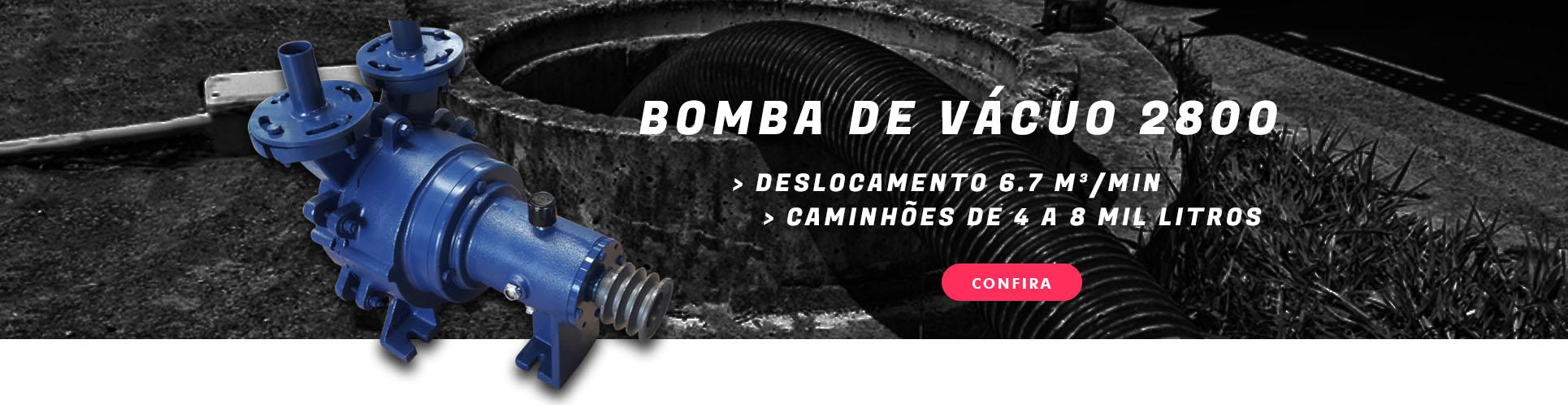 Bomba limpa fossa - modelo BV-2800