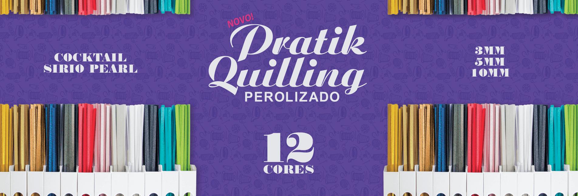 Quilling Perolizado