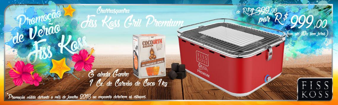 Promo Verão - Churrasqueira FKG - Premium