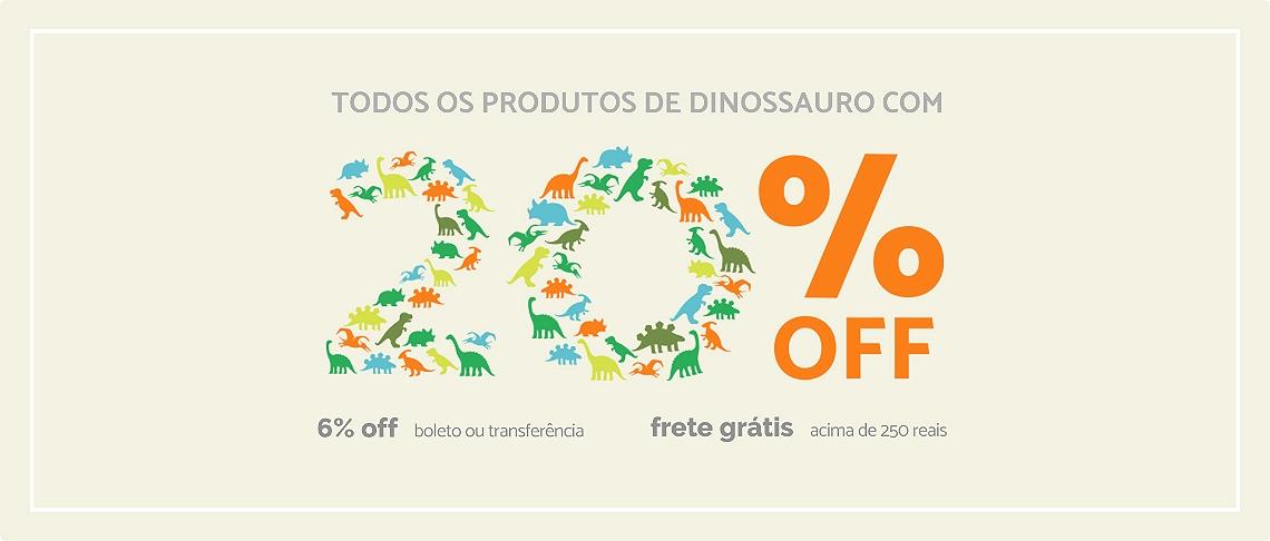 Dinos 20%OFF