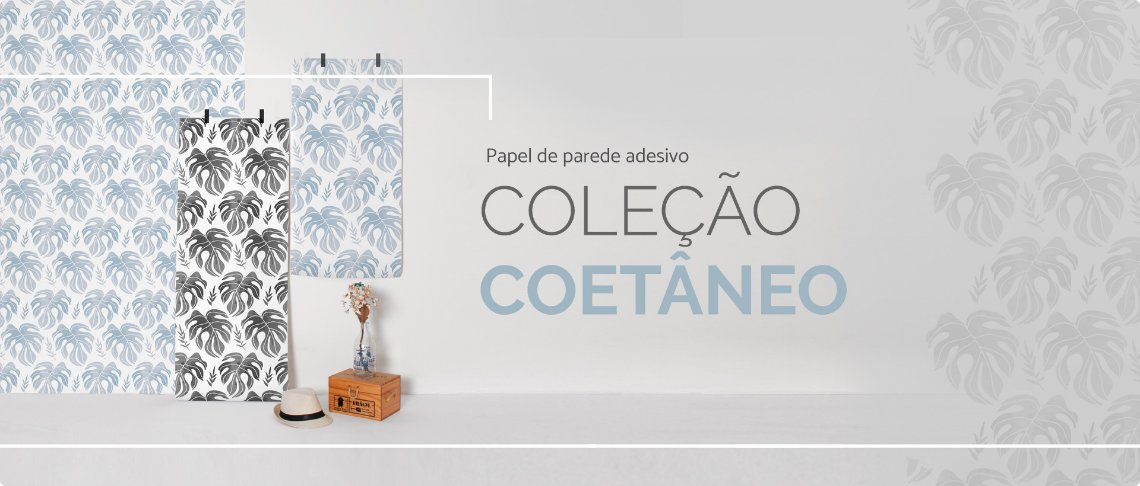 Papel de parede Adesivo Coetaneo