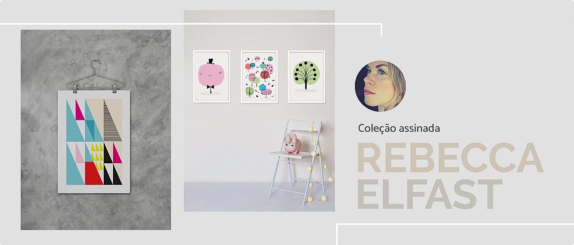 Papel de parede adesivo Rebecca Elfast