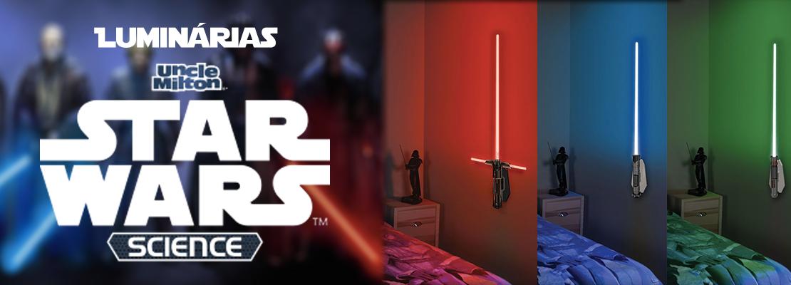 Luminárias Star Wars