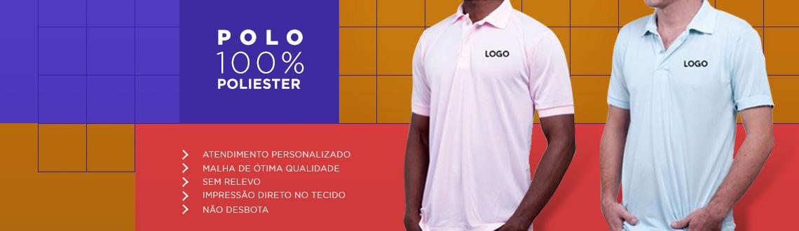 Camiseta Polo 100% Poliester