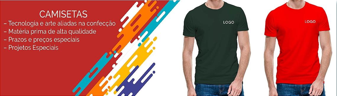 Banners 0001 Camiseta Algodão