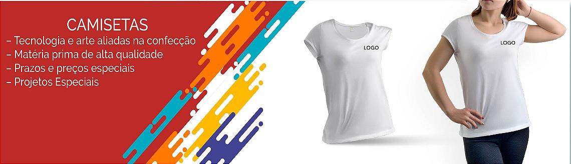 Camiseta de algodão Baby Look 0001