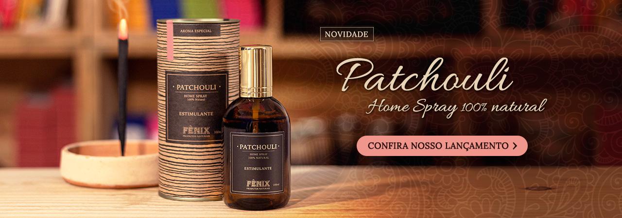 Lançamento Home Spray Patchouli