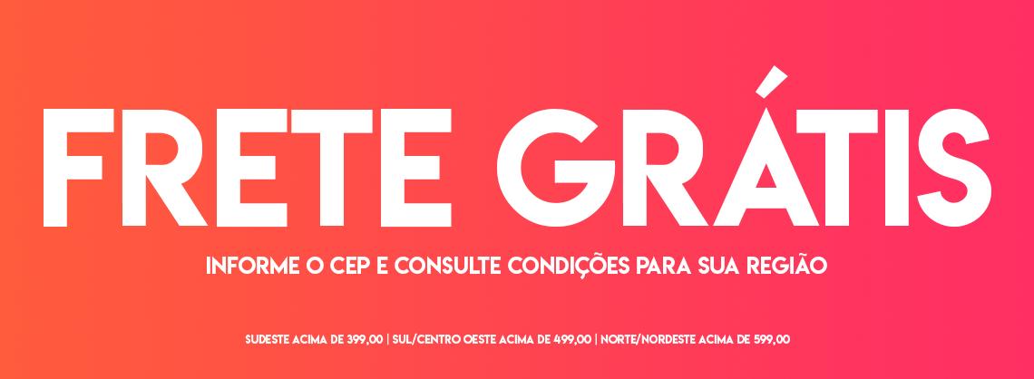 Banner Frete grátos vermelho nov/2020