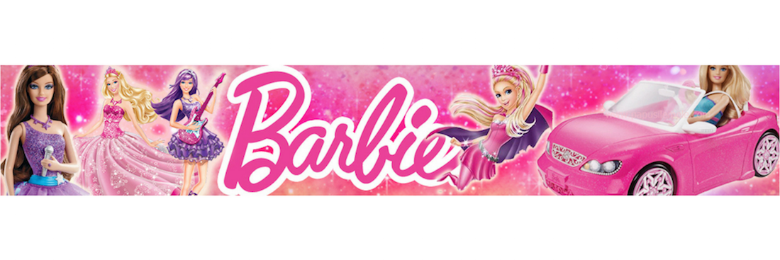 Banner Full Barbie