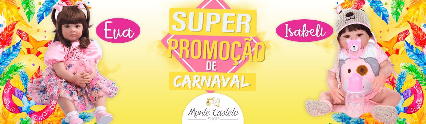 Banner Promoção Carnaval