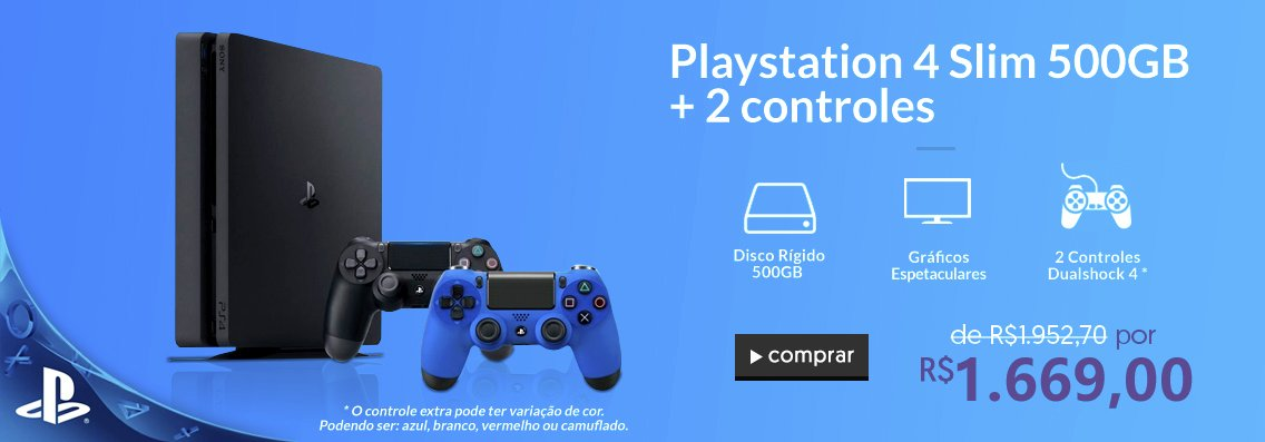 Home - PS4 2 Controles