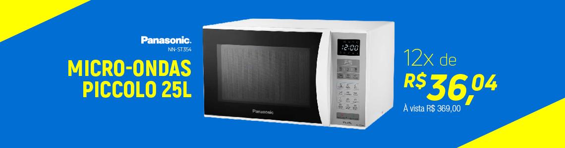 Micro-Ondas Panasonic 25L BCO NN-ST354WRU
