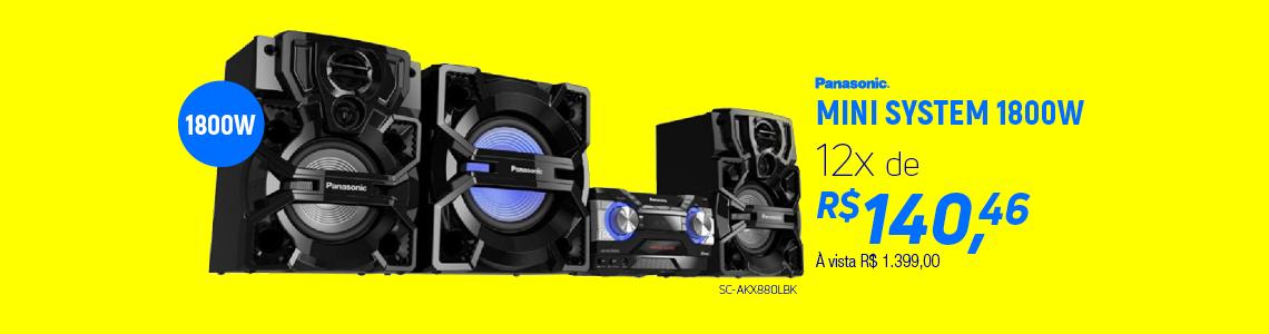 Panasonic Mini System SC-AKX880LBK